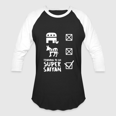 training to go super saiyan - Baseball T-Shirt