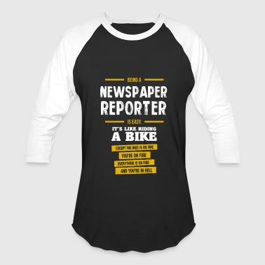 Newspaper Newspaper reporter - Baseball T-Shirt