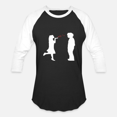Flying Kiss Flying Kiss - Baseball T-Shirt