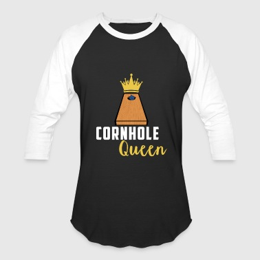 Cornhole Queen Crowned Champion - Baseball T-Shirt