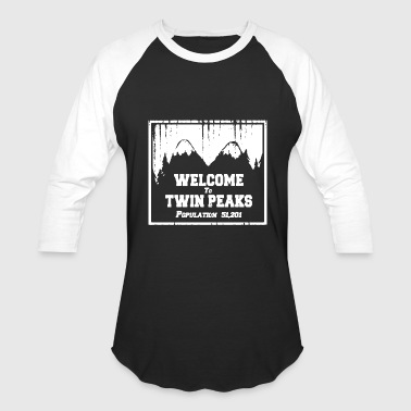 Twin Peaks Twin Peaks T Shirt Twin Peaks Shirt David Lynch - Baseball T-Shirt