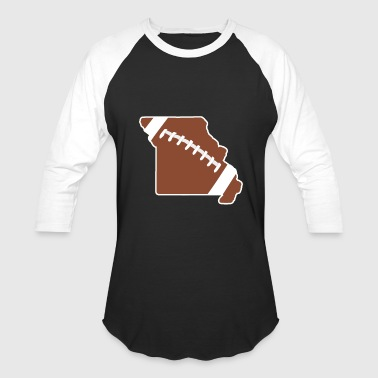 Football Missouri Fun Football Lover Gift - Baseball T-Shirt