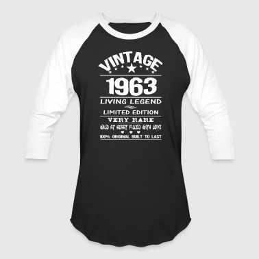 Born Legends VINTAGE 1963 - Baseball T-Shirt