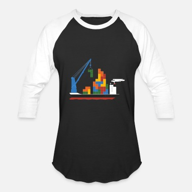 Russian Cartoon Russian Cargo - Baseball T-Shirt