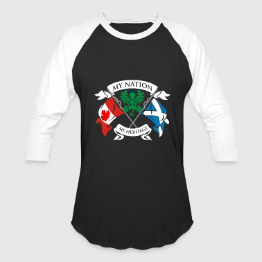 Canadian Scottish - Baseball T-Shirt