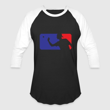Pong Beer - major league beer pong - Baseball T-Shirt