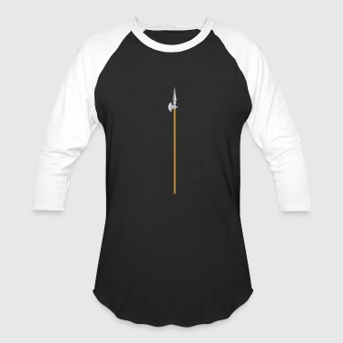 Lanze Halberd Lanze Ritter Knight1 - Baseball T-Shirt