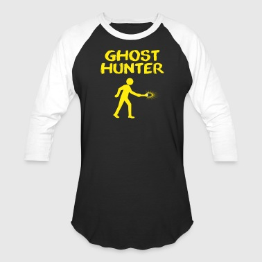 Ghost Hunter with Flash Light - Baseball T-Shirt