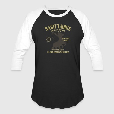 Horoscopes Sagittarius Horoscope - Baseball T-Shirt