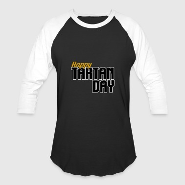 Tartanic Tartan Day - Baseball T-Shirt