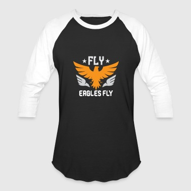 Flying Eagle Flying Eagles Shirt FLY EAGLES FLY - Baseball T-Shirt