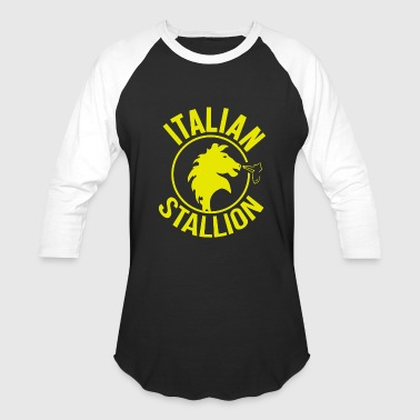 Italian stallion - Italian stallion - the italia - Baseball T-Shirt