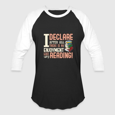 Reading Joyful Reading - Baseball T-Shirt