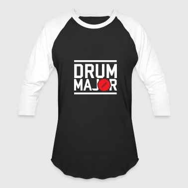 Music Major Drum Major - Baseball T-Shirt