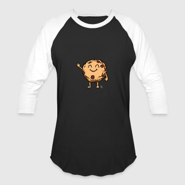 Chocolate Chip Cookie Cute chocolate chip cookie gift - Baseball T-Shirt