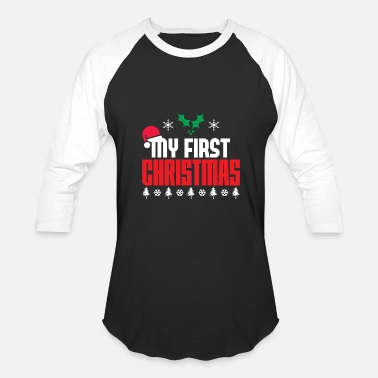 First MY FIRST CHRISTMAS - Baseball T-Shirt