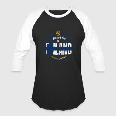 Country Shirt - Republic of Finland - Baseball T-Shirt