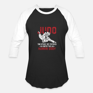 Studying Chinese Judo -Study of Physics - Baseball T-Shirt
