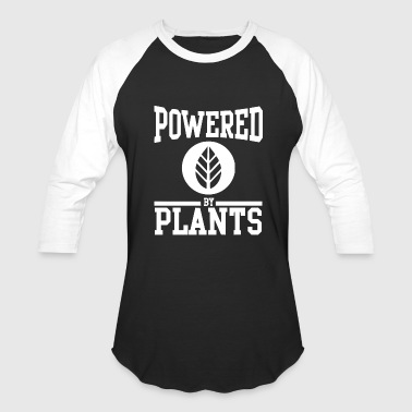 Power Plant POWERED BY PLANTS 2 - Baseball T-Shirt