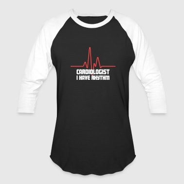 Funny Heart Doctor Cardiologist - Baseball T-Shirt