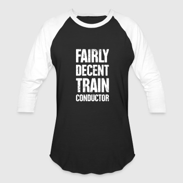 Retro Crew Retro Vintage Rail Crew Railroad Train Conductor - Baseball T-Shirt