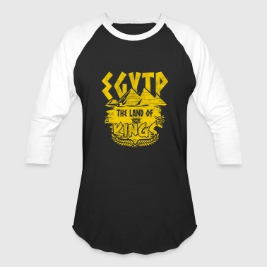 Country Shirt - Egypt Land of Kings - Baseball T-Shirt