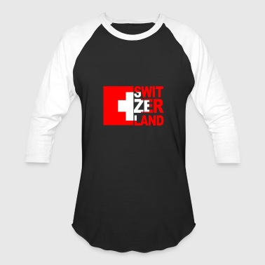 Europe Switzerland - Baseball T-Shirt