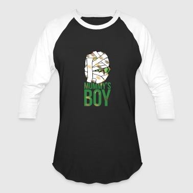 Mom Boy Mom's boy - Mummy's boy - Baseball T-Shirt