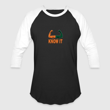 University Of Miami Funny Miami Merchandise Sports Fans Football Funny Slogan - Baseball T-Shirt