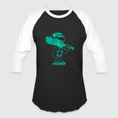 Homo - Baseball T-Shirt