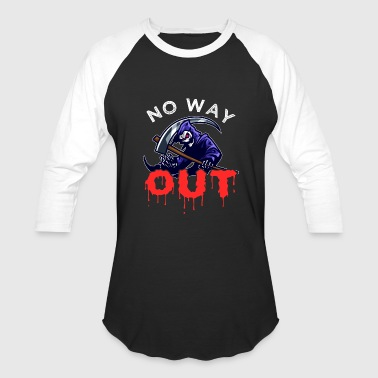 Happy Halloween Grim Reaper Grim Reaper | No Way Out - Baseball T-Shirt