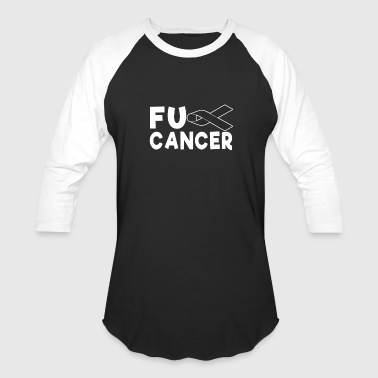 Skingirl Fck Cancer Shirt skin cancer cancer - Baseball T-Shirt