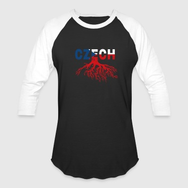 Roots Czech Republic Czech flag - Baseball T-Shirt