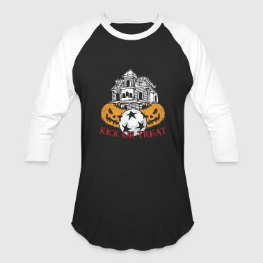 Kick kick or treat - Baseball T-Shirt