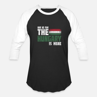 Balaton Hungary Budapest Hungarian flag gift idea Home - Baseball T-Shirt