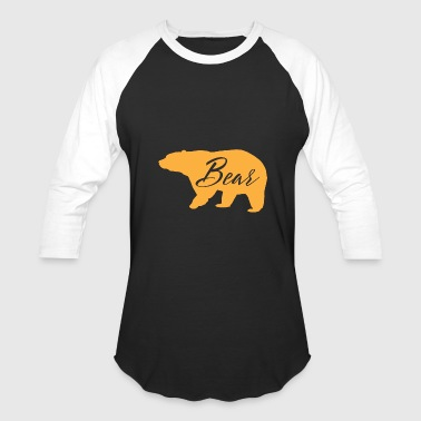Bear - Baseball T-Shirt