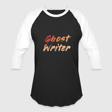Ghost Writer - Baseball T-Shirt