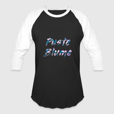 Blume Puste Blume Blow Flower - Baseball T-Shirt