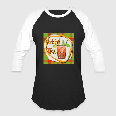 Drink Cocktails Cocktail, whiskey, drinks - Baseball T-Shirt
