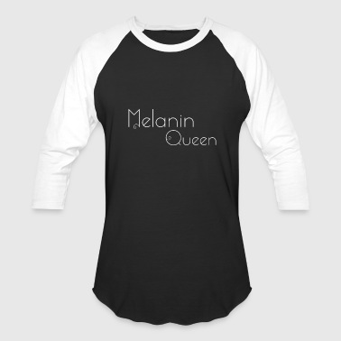 Melanin Queen PT1 Apparel - Baseball T-Shirt