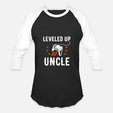 Gamer Uncle Leveled Up To Uncle Shirt New Uncle T Shirt Gift For Gamer - Baseball T-Shirt