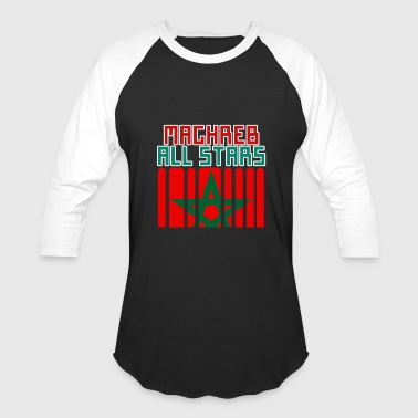 Maghreb Tee shirt maghreb all stars - Baseball T-Shirt