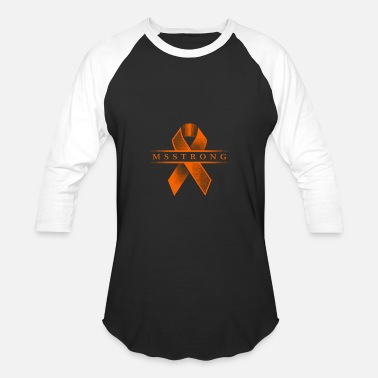 Ms Strong Ms Strong - Disease Awareness - Baseball T-Shirt