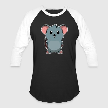 Mouse Fur Animal Children Rat Mouse Sweet Cute Gift - Baseball T-Shirt