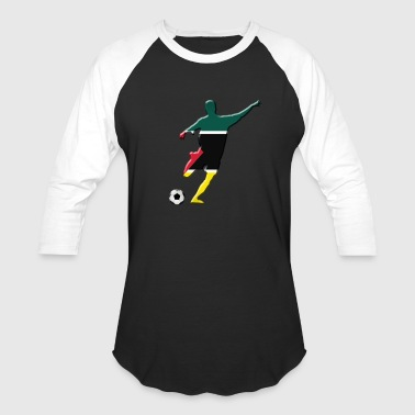 Flag Of Mozambique Mozambique - Baseball T-Shirt