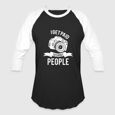 Picture Photographer Picture - Shoot - Cam - Photographer - Gift - Baseball T-Shirt