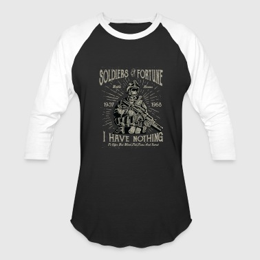 Fortune Telling Soldiers Of Fortune - Baseball T-Shirt