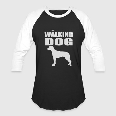 THE WALKING DOG - Baseball T-Shirt