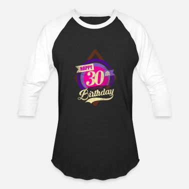 30th Birthday Gift Ideas 30th Birthday - Best Birthday Gift Idea - Baseball T-Shirt