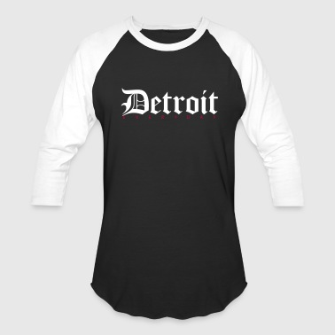 Detroit Clothing Detroit - Baseball T-Shirt